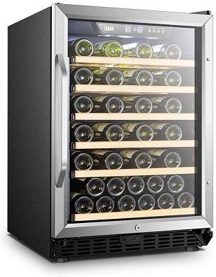 Lanbo Built-in Compressor Wine Storage Fridge with Reversible Door