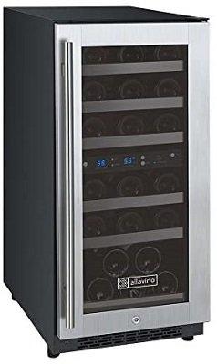Allavino VSWR30-2SSRN Dual Zone Wine Cooler Refrigerator