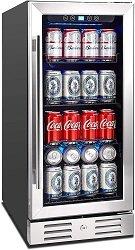 Kalamera 15 Built-in 96 can Garage Beverage Cooler