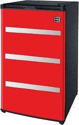 RFR329 Garage Fridge Tool Box- Best Retro Garage Beer Fridge