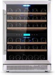 Amaste 51 Bottle Dual Zone Wine Fridge Reviews
