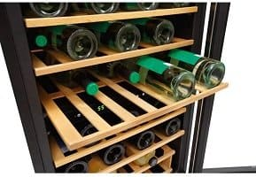 Frigidaire Wine Cooler racks