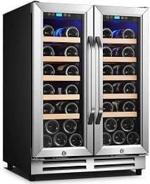Karcassin 28 Bottles Wine Cooler Refrigerator