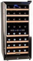 Koldfront 32 Bottle Free Standing Dual Zone Wine Cooler Review