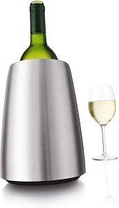 Vacu Vin single bottle stainless steel Wine Cooler