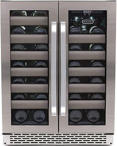 Whynter BWR-401DS 40 Bottle Stainless Steel Dual Zone Wine Fridge Review