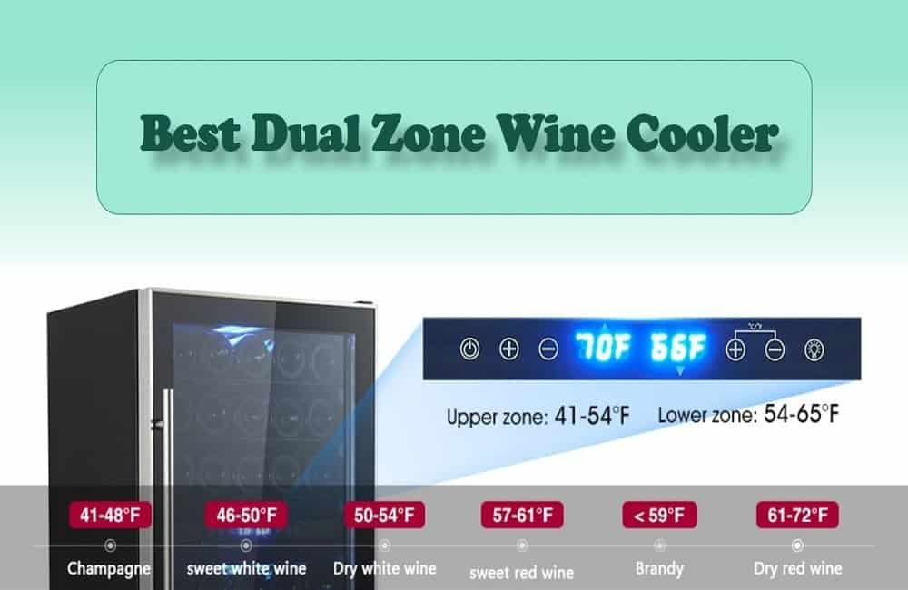 best dual zone wine cooler reviews