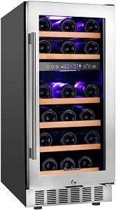 Aobosi 15 Inch Wine Cooler Review