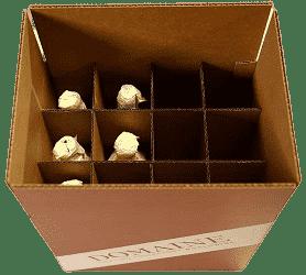 Cardboard Wine Storage Boxes