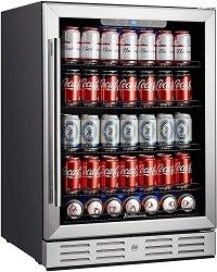 kalamera 24'' wine refrigerator 175 Cans Capacity