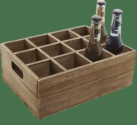 wooden wine storage boxes
