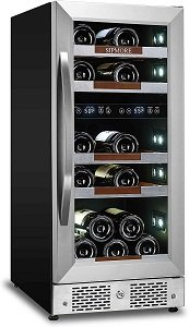 15 Inch Dual Zone Sipmore Wine Cooler Review