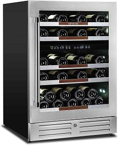 24 Inch Dual Zone Sipmore Wine Cooler Review