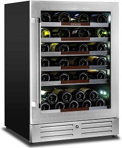 24 Inch Single Zone 44 Bottles Sipmore Wine Cooler