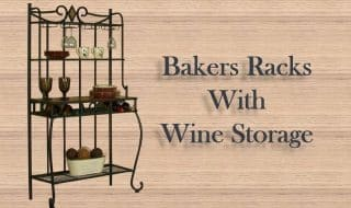 10 Best Bakers Racks with Wine Storage