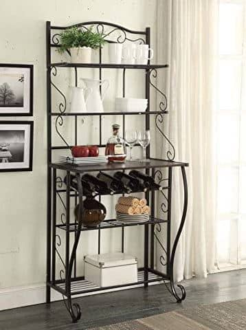 RAAMZO 5-Tier Kitchen Bakers Rack