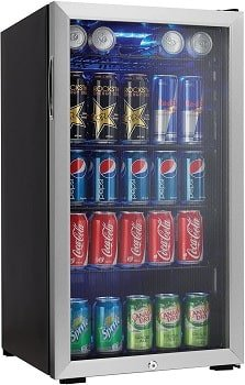 Danby 120 Can Stainless Steel Coldest Beer Fridge