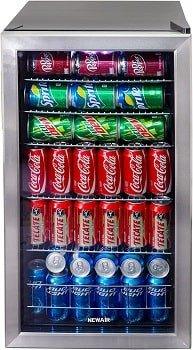 NewAir Coldest Beverage Cooler and Refrigerator