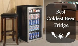 10 Best Coldest Beer Fridge to Chill Your Wine