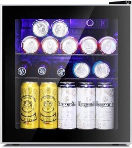 Antarctic Star 60 Can Mini Fridge For Man Cave