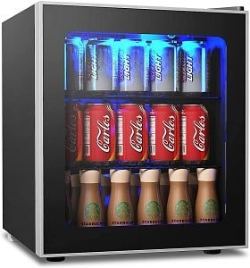COSTWAY 62 Can Beverage Refrigerator and Cooler