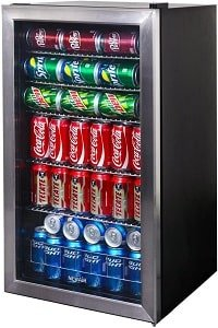 NewAir AB-1200 126 Can man cave beer fridge