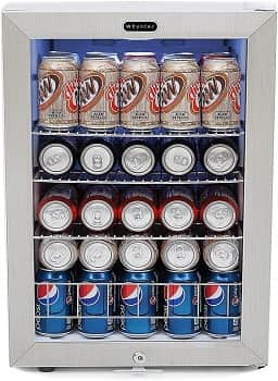 Whynter 90 Can Capacity Man Cave Beverage Cooler
