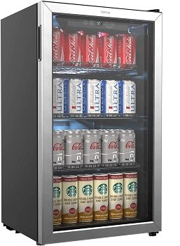 hOmeLabs 120 Can Mini Fridge for man cave
