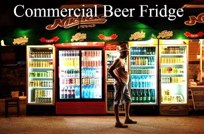 Commercial Beer Fridge