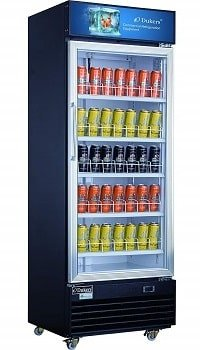 Dukers 14.7 cu. ft. Commercial Display Merchandiser Refrigerator