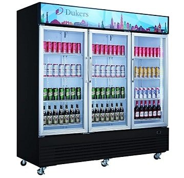 Dukers 69.4 cu. ft. commercial beverage fridge