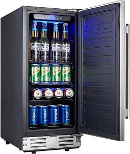 Kalamera 15 Inch Home and Commercial Beverage Fridge