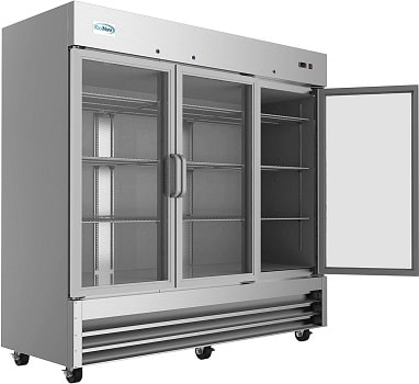 KoolMore 3 Glass Door Commercial Refrigerator Cooler