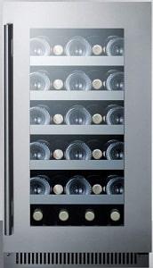 Summit Appliance CL18WC 18 Inch Wide Built-in Wine Cellar