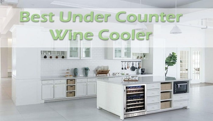 best under counter wine cooler