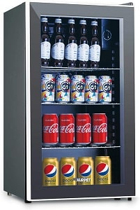 KUPPET 120-Can Beverage Cooler and Refrigerator