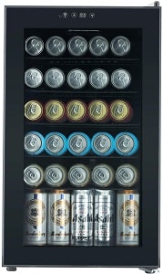 KUPPET Beverage Cooler and Refrigerator, Mini Fridge for Home