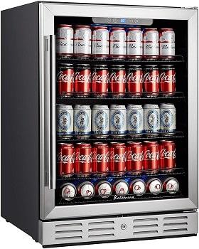 Kalamera 24 inch 154 Cans Full Capacity Beverage Cooler