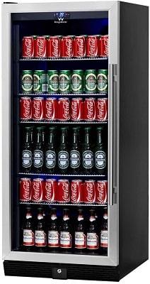 KingsBottle 300 Cans Full Size Beverage Refrigerator