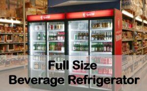 full size beverage refrigerator