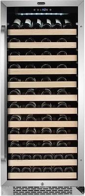 100 Bottle Wine Cooler Whynter Large Capacity Wine Refrigerator