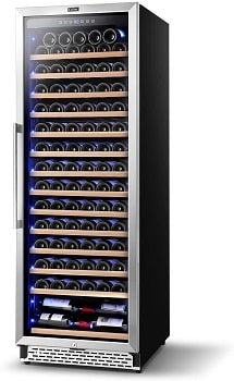 Colzer 154 Bottle Large Wine Cooler Refrigerators