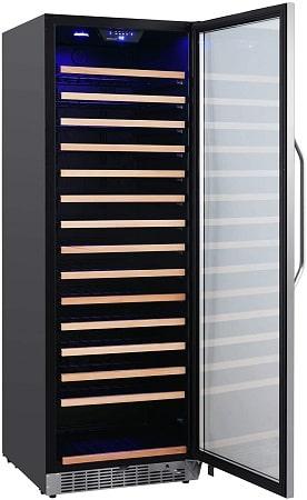 EdgeStar 24 Inch Wide 151 Bottle Large Capacity Single Zone Wine Cooler