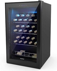 KUPPET 27 Bottles Compressor Wine Cooler