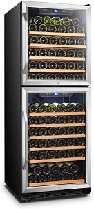 Lanbo Built-in Dual Zone Wine Cooler