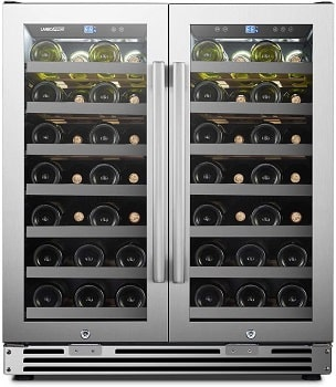 LanboPro Stainless Steel Dual Zone Wine Cooler Review