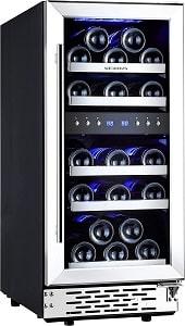 Phiestina 29 Bottle Under Counter Wine Cooler Refrigerator