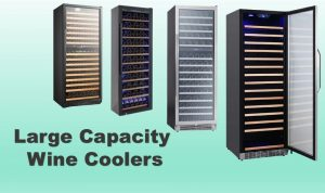 large capacity wine coolers